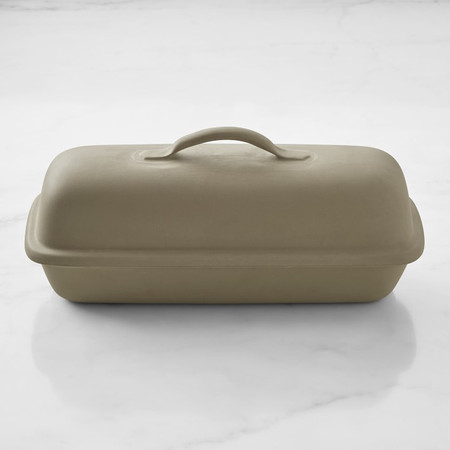 Sassafras Rectangular Covered Bread Baker