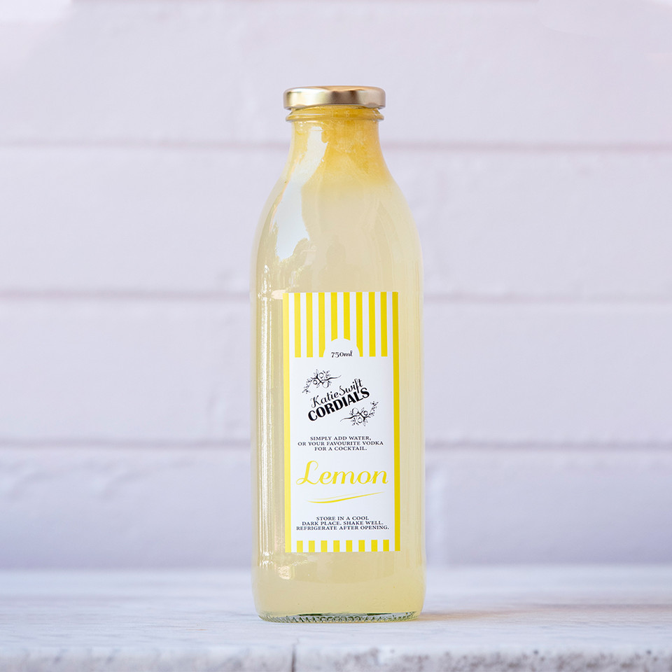 Katie Swift Cordials: Lemon