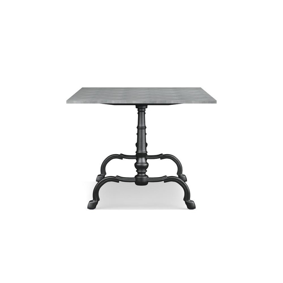 La Coupole Indoor/Outdoor Dining Table, Rectangular Pietra Cardoza Top