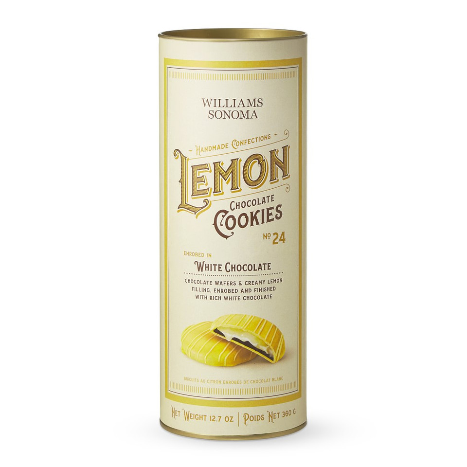 Williams Sonoma Lemon Chocolate Cookies