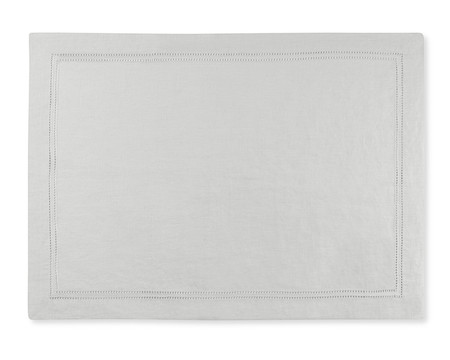 Linen Double Hemstitch Place Mat