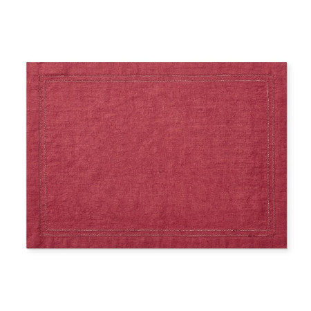 Linen Double Hemstitch Placemats