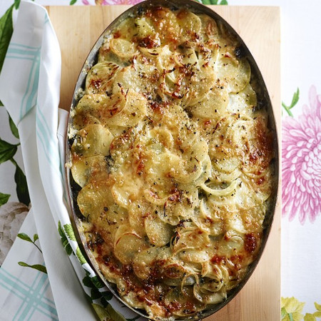 Mauviel Copper Gratin