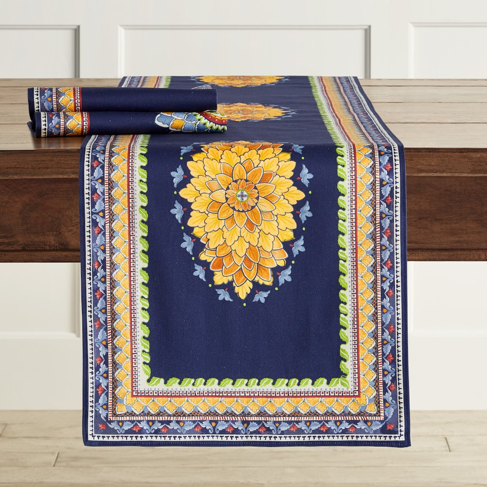 Milazzo Sicily Table Runner