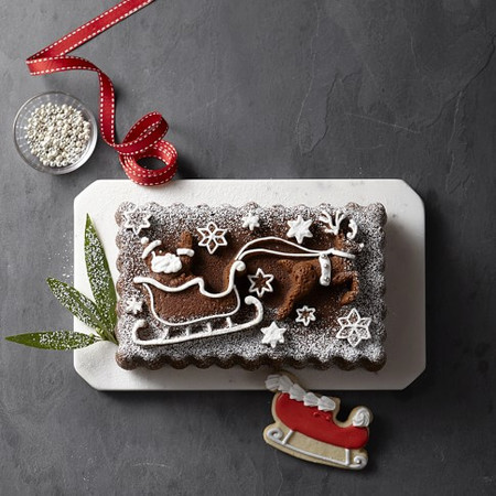 Nordic Ware 'Twas the Night Before Christmas Loaf Pan
