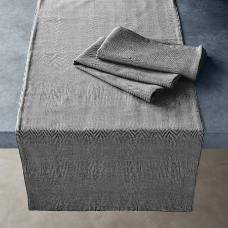 Open Kitchen by Williams Sonoma Herringbone Table Runner