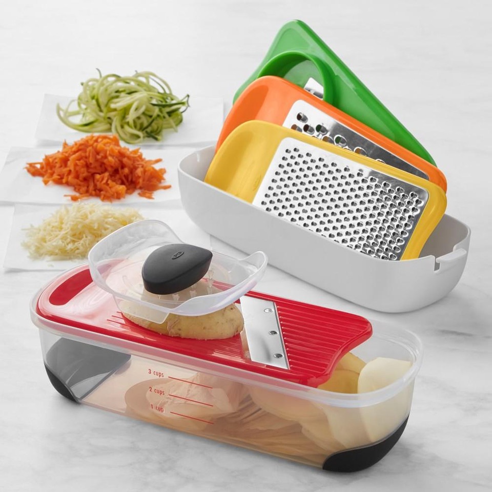 OXO Grate & Slice with Spiralizer