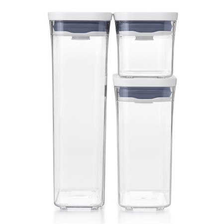 OXO POP Container Slim 3-Piece Set