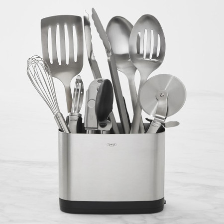 OXO Stainless-Steel 9-Piece Utensil Set