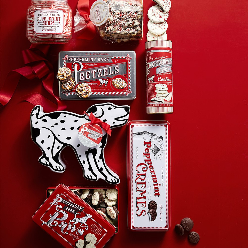 Williams Sonoma Peppermint Bark Cookies