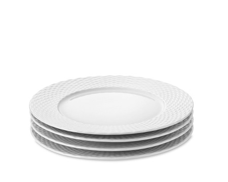 Pillivuyt Basketweave Porcelain Salad Plate