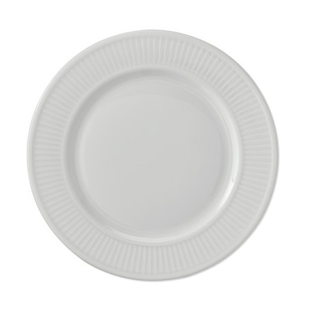 Pillivuyt Plisse Porcelain Dinner Plates