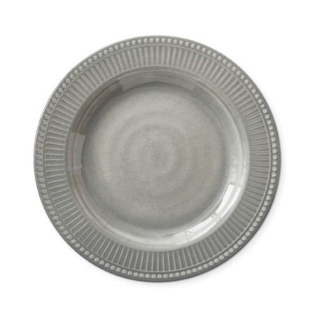 Pleated Outdoor Melamine Salad Plate