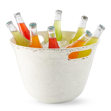 Rustic Melamine Party Bucket