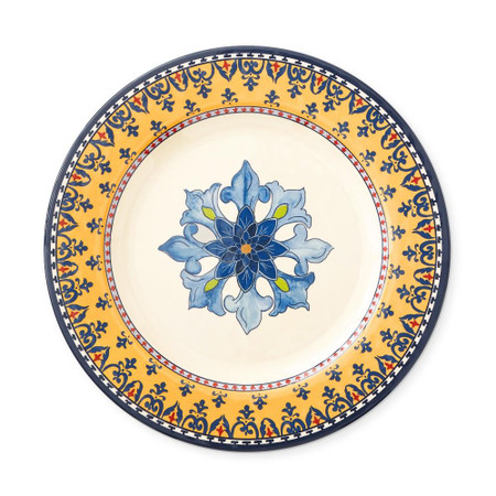 Sicily Melamine Dinner Plate, Yellow