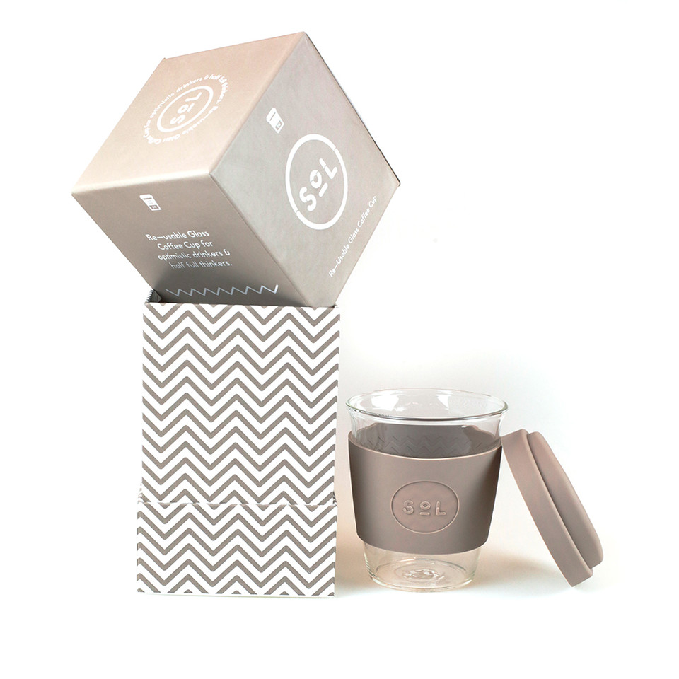 Sol Cup, Seaside Slate, 355ml