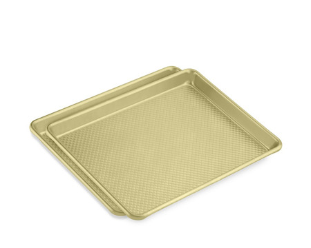 Williams Sonoma Goldtouch Nonstick Quarter Sheet, Set of 2