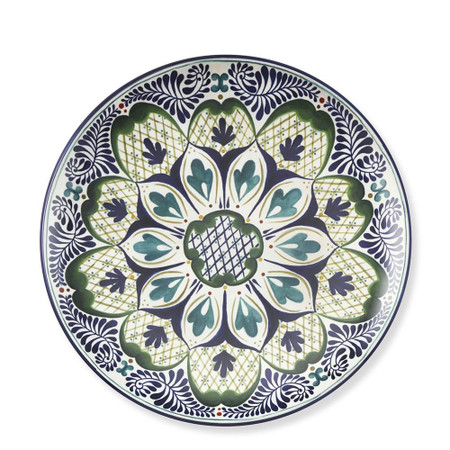 Veracruz Melamine Dinner Plates, Set of 4