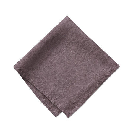 Italian Washed Linen Napkins, Set of 4