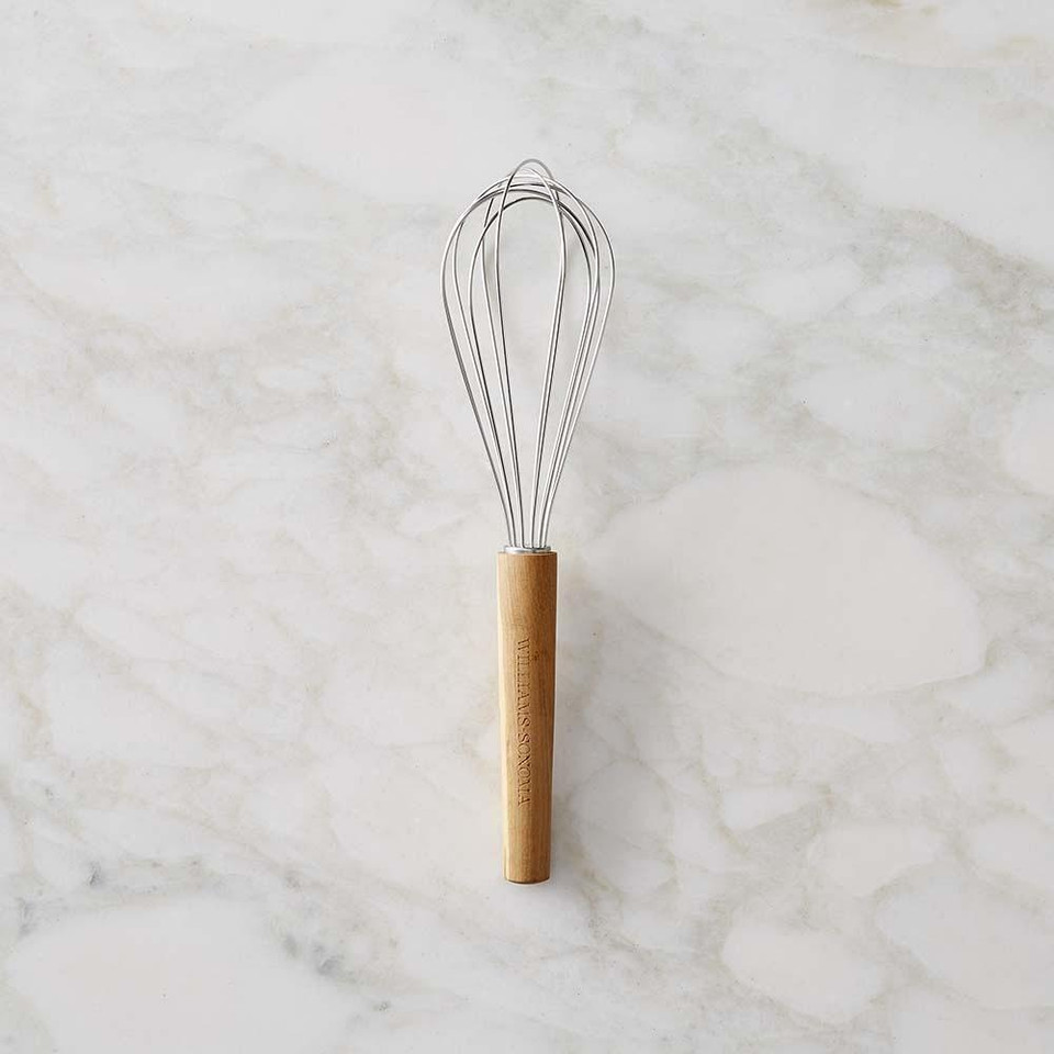 Williams Sonoma Olivewood-Handled Whisk