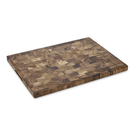 Williams Sonoma End-Grain Cutting Board, Acacia