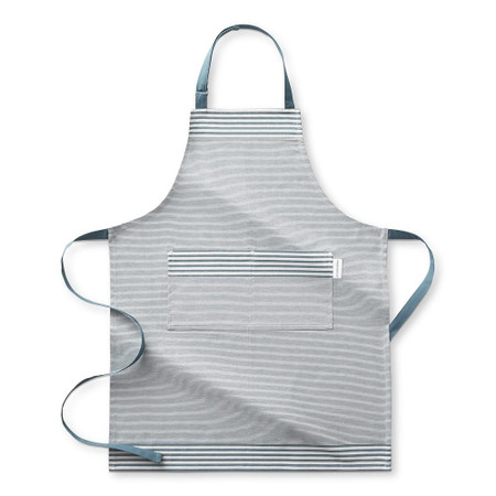 Williams Sonoma Bay Stripe Apron, French Blue