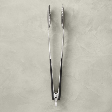 Williams Sonoma Black-Handled Barbecue Tongs