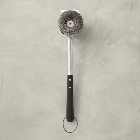 Williams Sonoma Black-Handled Barbecue Grill Cleaning Brush