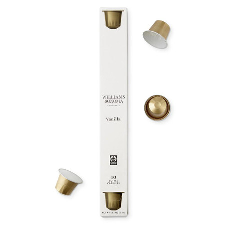 Williams Sonoma Coffee Capsules, Vanilla