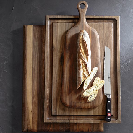 Williams Sonoma Edge-Grain Carving Board, Walnut