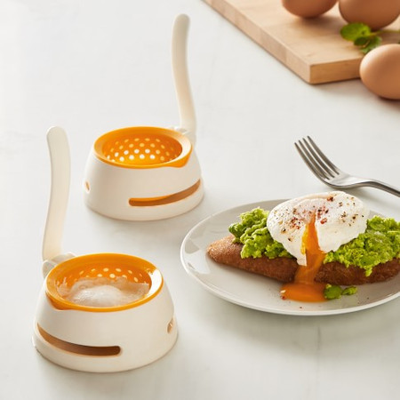 Williams Sonoma Egg Poacher, Set of 2