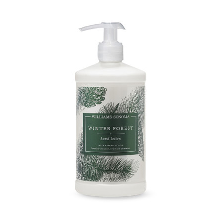 Williams Sonoma Winter Forest Hand Lotion, 473 ml.