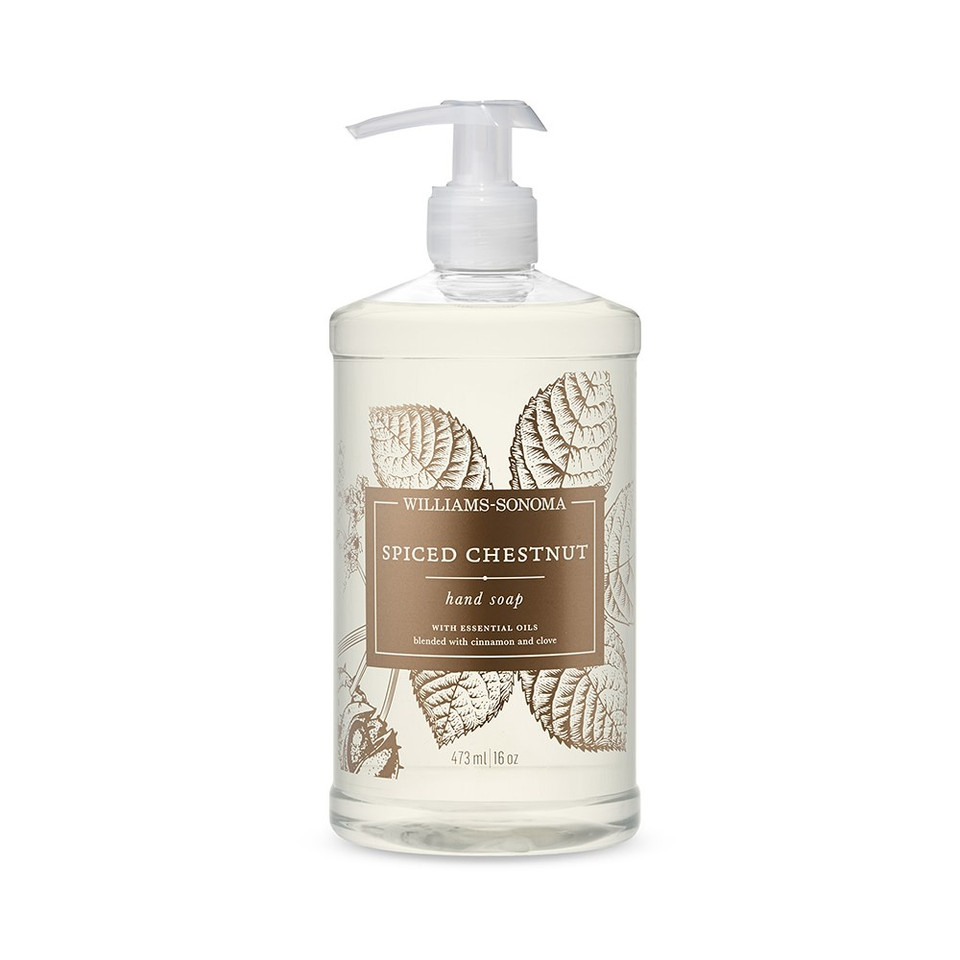 Williams Sonoma Spiced Chestnut Hand Soap, 473 ml.