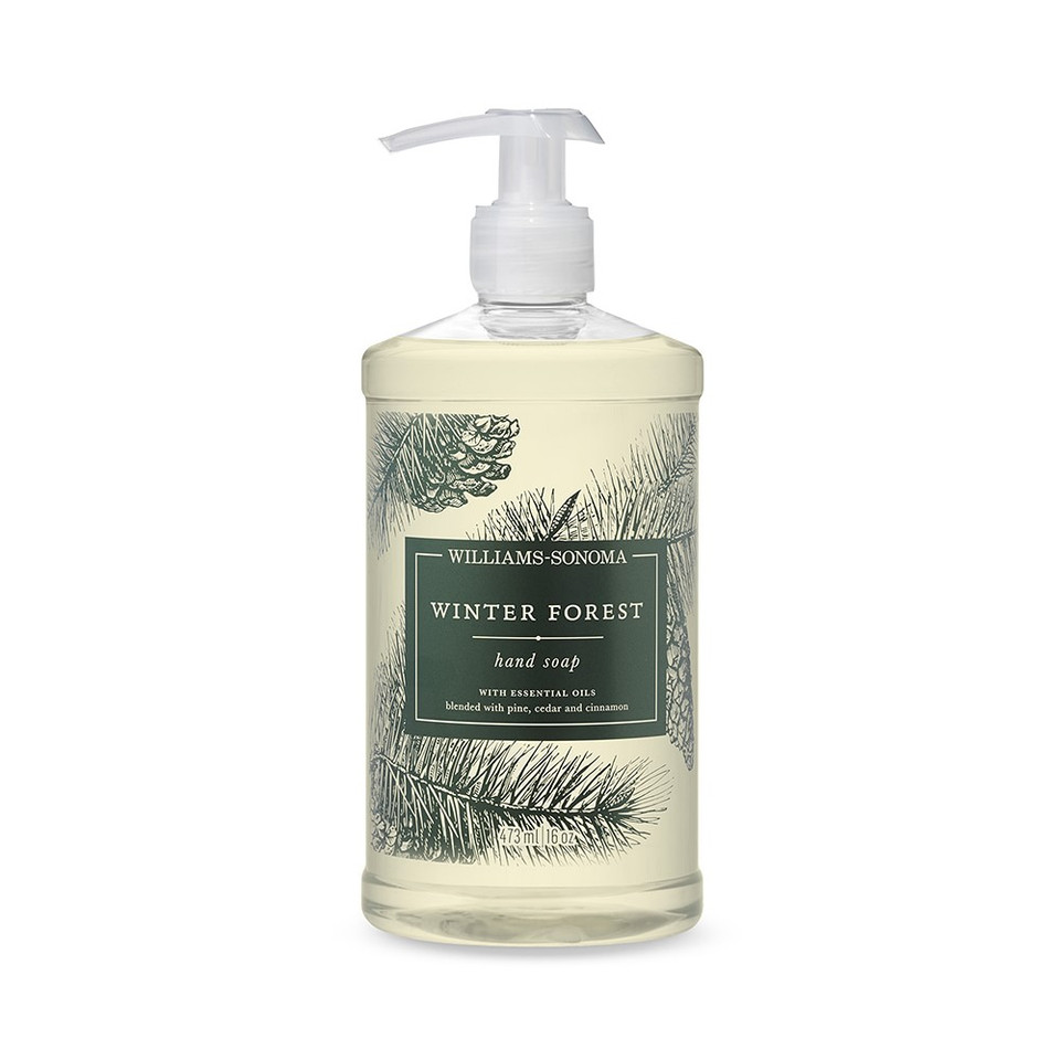 Williams Sonoma Winter Forest Hand Soap, 473 ml.