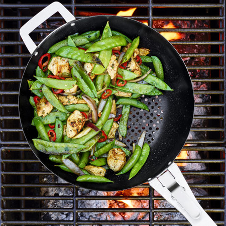 Williams Sonoma High-Heat Non-Stick Outdoor Wok