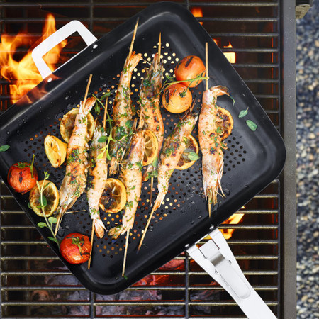 Williams Sonoma High-Heat Non-Stick Outdoor Rectangular Griddle