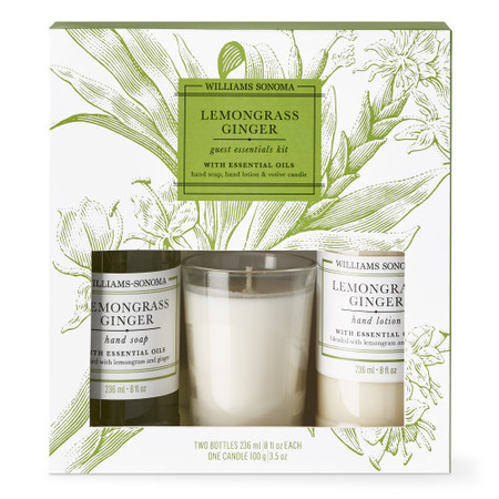Williams Sonoma Lemongrass Ginger Guest Set