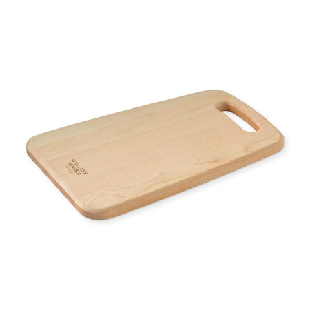 Williams Sonoma Maple Handled Prep Cutting Board