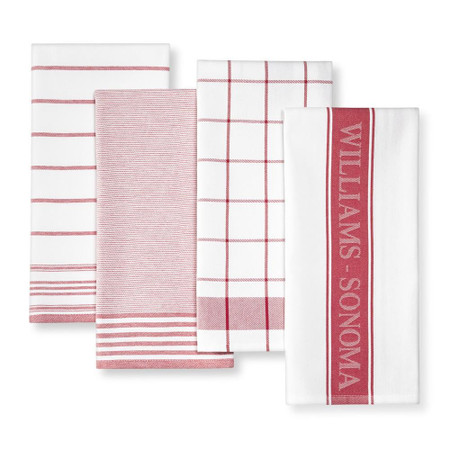 Williams Sonoma Multi-Pack Towels, Claret