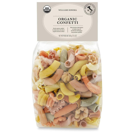 Williams Sonoma Organic Pasta, Confetti