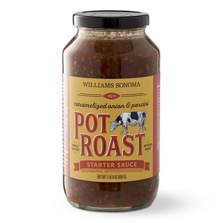 Williams Sonoma Braising Sauce, Caramelised Onion & Porcini Pot Roast