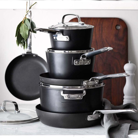 Williams Sonoma Professional Nonstick 10-Piece Cookware Set