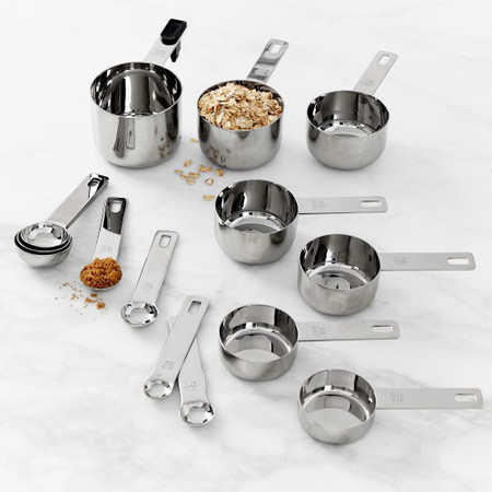 Williams Sonoma Stainless Steel Measuring Cups & Spoons