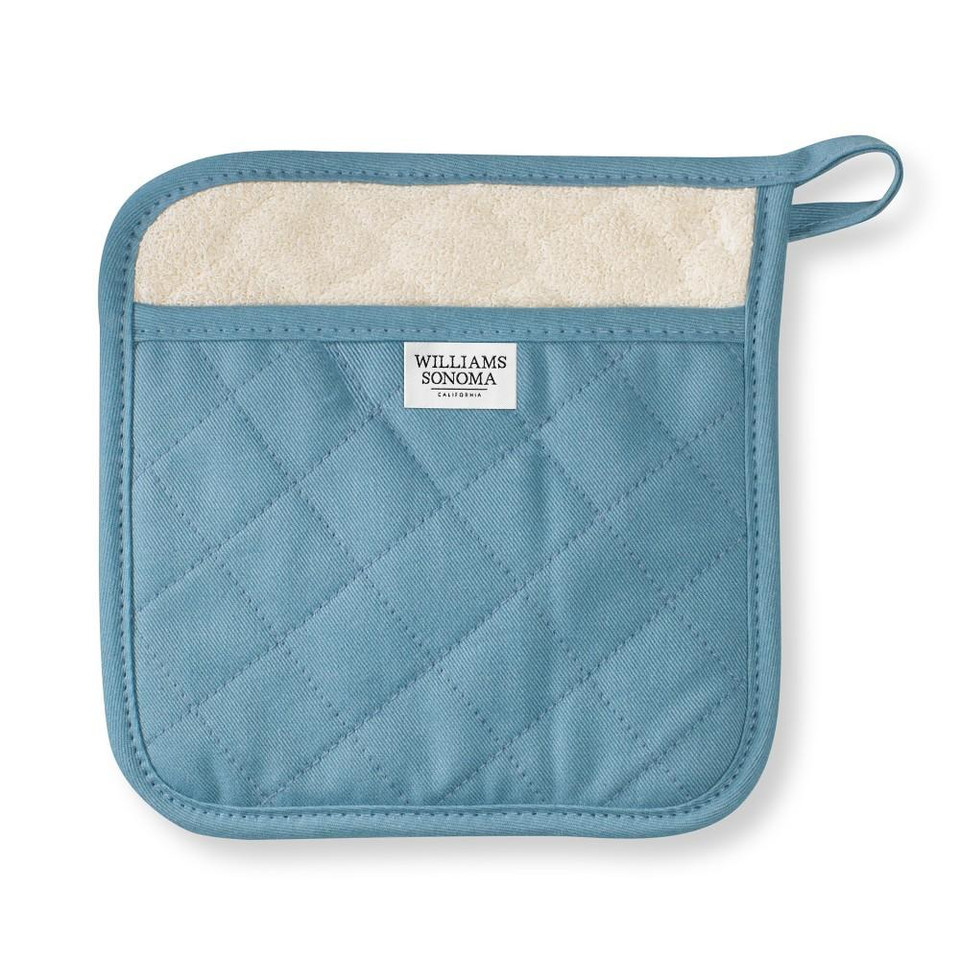 Williams Sonoma Solid Potholder, French Blue