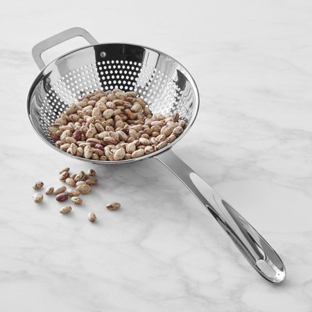 Williams Sonoma Stainless-Steel Handheld Strainer