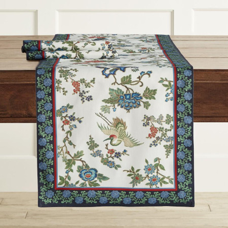 Crane Table Runner