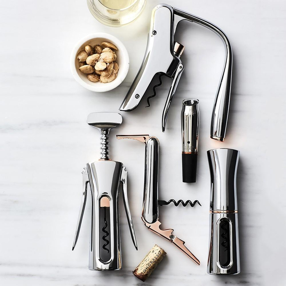 Williams Sonoma Winged Corkscrew, Stainless-Steel & Copper