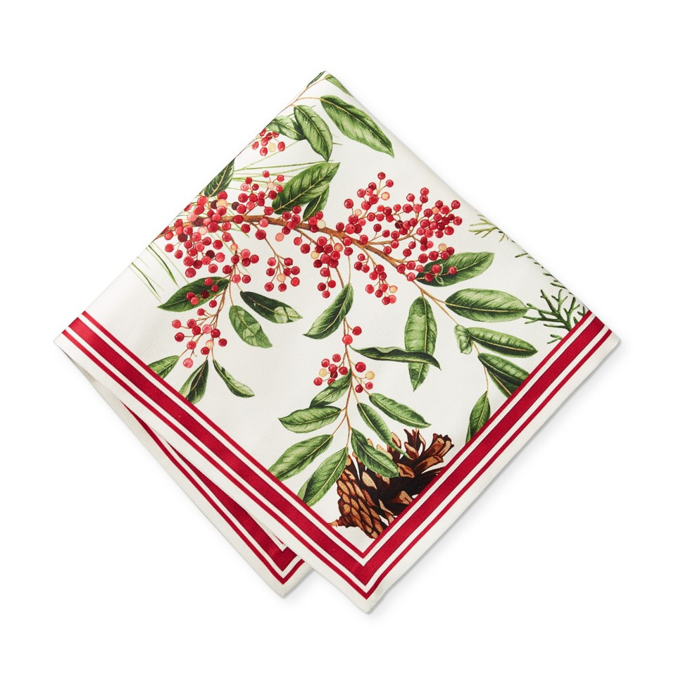 Woodland Berry Napkins, Set of 4