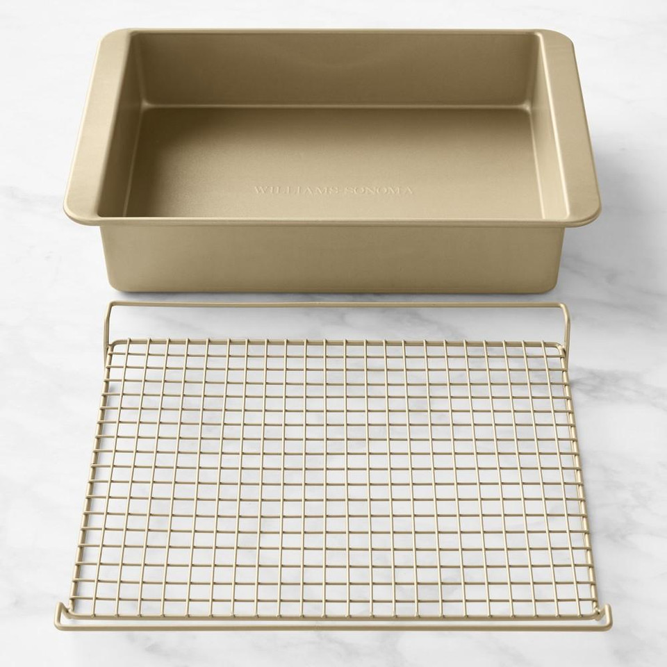 Williams Sonoma Goldtouch® Roasting Set with Lasagna Pan