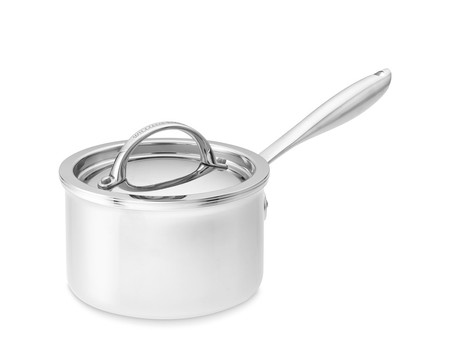 Williams Sonoma Thermo-Clad™ Stainless-Steel Saucepan